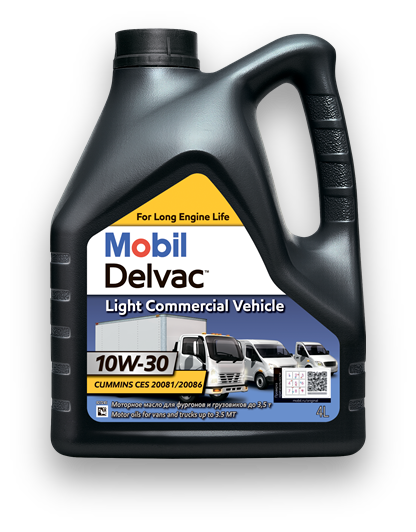 Mobil Delvac™ Light Commercial Vehicle 10W-30
